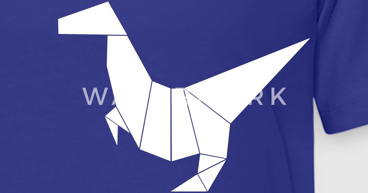 Dinosaur Origami 1c By L4wrence Spreadshirt