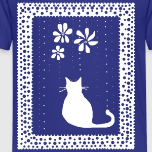 Poetic Kitty Cat - Premium T-skjorte for barn