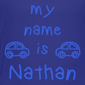 MY NAME IS NATHAN - Premium T-skjorte for barn