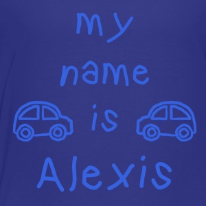ALEXIS MY NAME IS - Premium T-skjorte for barn