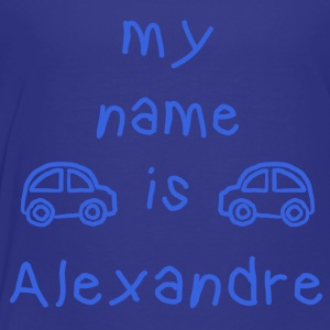 ALEXANDRE MY NAME IS - Kids' Premium T-Shirt