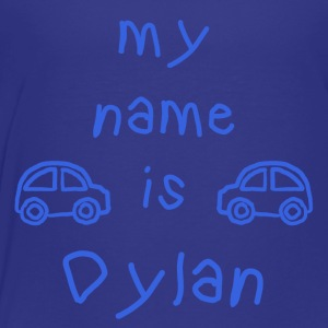 DYLAN MY NAME IS - Premium T-skjorte for barn