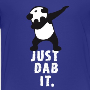 dab just panda dabbing dub Dance cool LOL funny - Kinder Premium T-Shirt