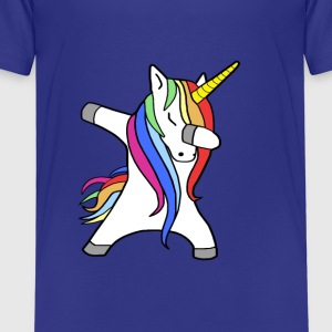 Dabbing Unicorn - Dancing Unicorn - Kids' Premium T-Shirt