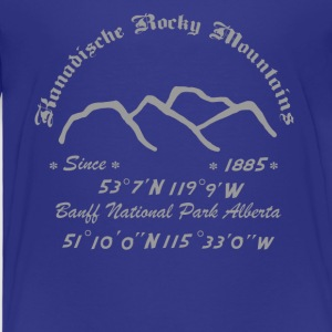 Canada Rocky Mountains - Kids' Premium T-Shirt