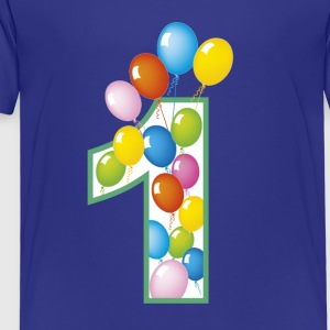 First birthday - Kids' Premium T-Shirt