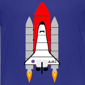 spaceshuttle - Kinderen Premium T-shirt