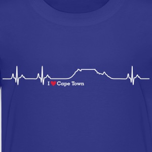 I love Cape Town (Table Mountain) - Kinder Premium T-Shirt