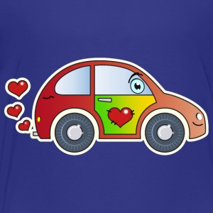 Kids Car Toy Car heart colorful merry children - Kids' Premium T-Shirt