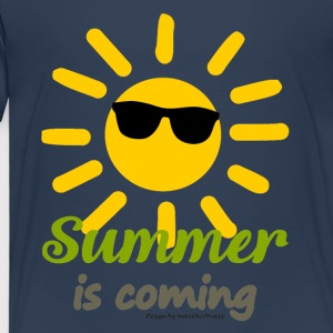 SummerIsComing - Premium T-skjorte for barn