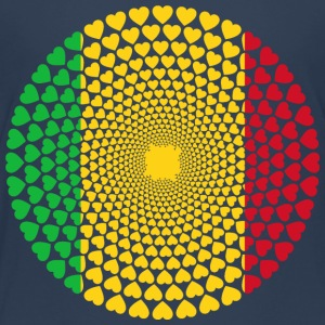 MALI LOVE HEART MANDALA - Kids' Premium T-Shirt