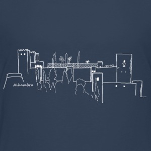 Alhambra white (rather dark t-shirts) - Kids' Premium T-Shirt