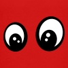 Eyes smiley question - Børne premium T-shirt