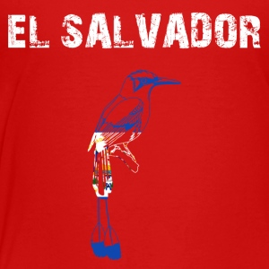 Nation-Design El Salvador Motmot - Premium-T-shirt barn