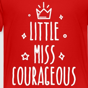 Little miss Courageous - Kinderen Premium T-shirt