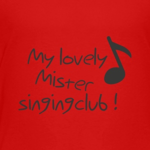Singing Club - Premium-T-shirt barn