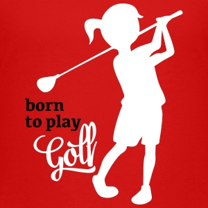 Golf - Kinder Premium T-Shirt