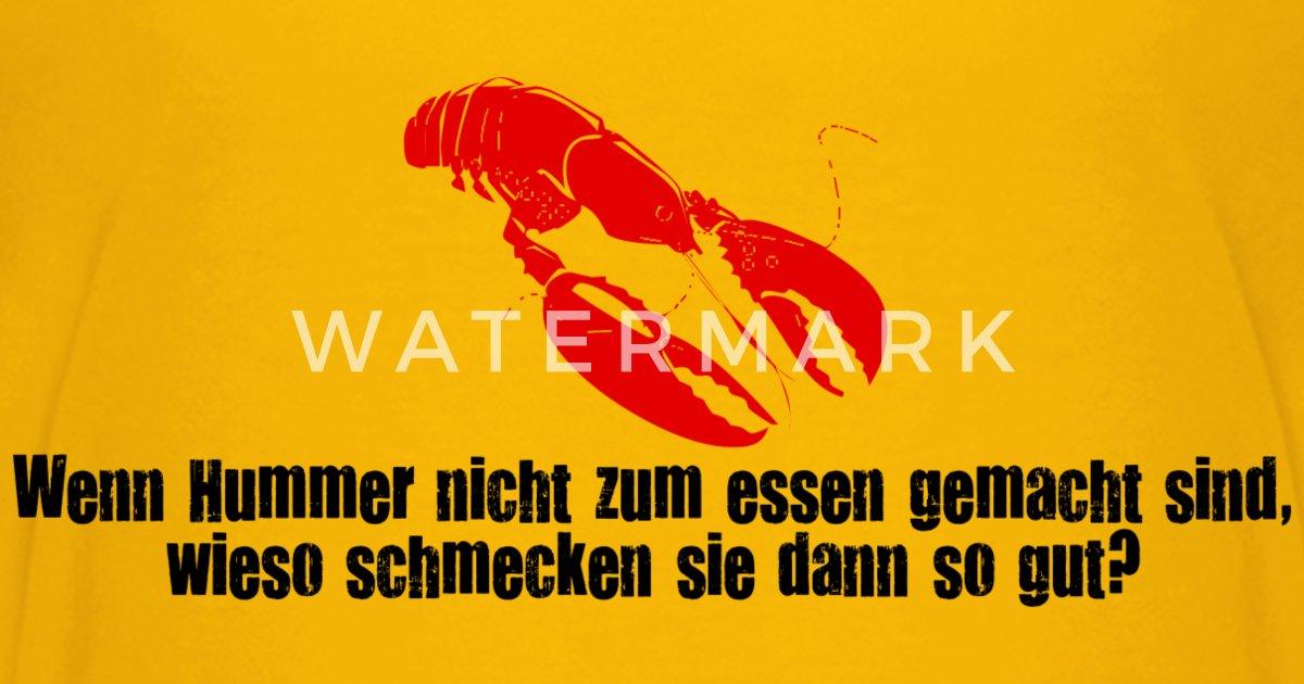 Lecker Krebs Premium Meeresfrüchte Camiseta Fisch Lobster Hummer qRx5aFIwBa