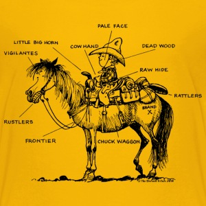 Thelwell 'Learning Western riding'