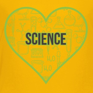 SCIENCE HEART HEAT - Kids' Premium T-Shirt