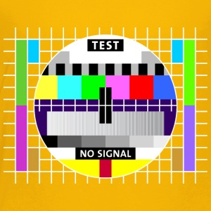 Testbild Display screen test card signal Big Bang - Kinder Premium T-Shirt