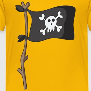 Jolly Roger - Premium T-skjorte for barn