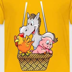 chicken120 - Kinder Premium T-Shirt