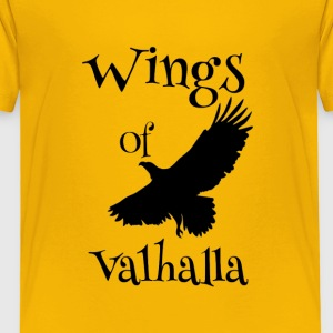 WingsOfValhalla - Premium T-skjorte for barn