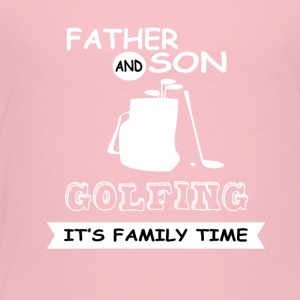 Fader och Son - Golf - Premium-T-shirt barn