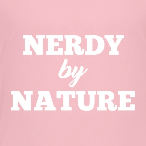 Nerdy by Nature - Premium T-skjorte for barn