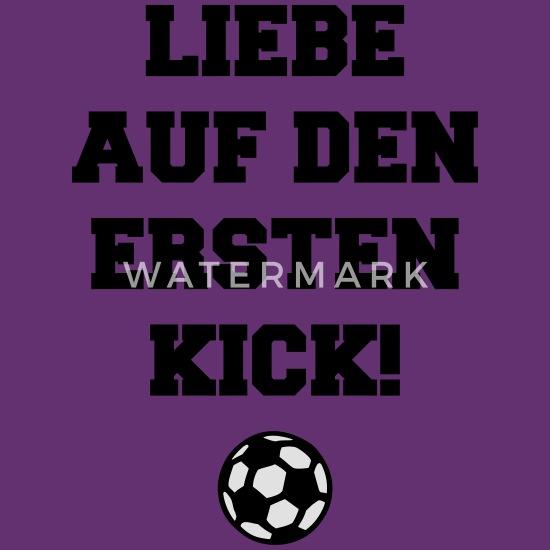 Liebe Auf Den Ersten Kick Fußball Fan Sprüche Kinder