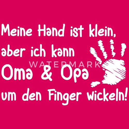 Gemeinsame Oma und Opa um den Finger wickeln von serenity.shirt   Spreadshirt @EC_21