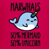 Narwhals 50% mermaid 50% unicorn - Kids' Premium T-Shirt