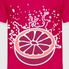 Saftig-spritzige Orange / juicy orange (3c) - Kinderen Premium T-shirt