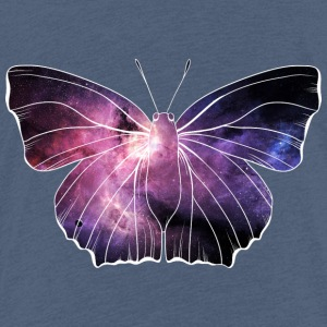 Galazy in butterfly - Kids' Premium T-Shirt