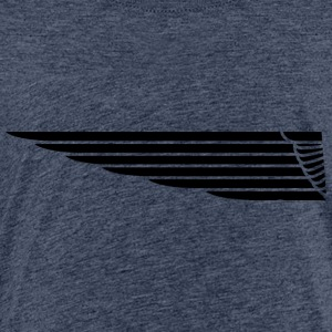 Eagle Wing Lange - Kinder Premium T-Shirt