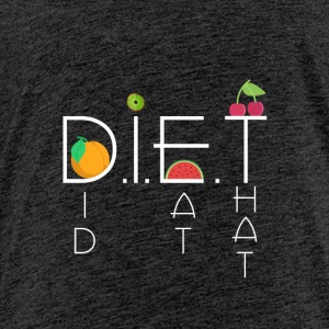 DIET - Premium-T-shirt barn