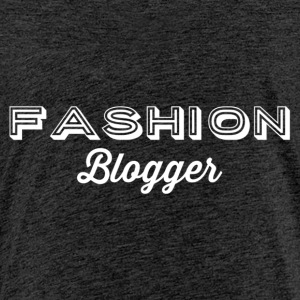 Fashion Blogger 2 - hvit - Premium T-skjorte for barn