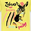 Animal Planet Buntes Zebra Ready To Party - Kinder Premium T-Shirt