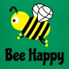 bee happy cute bee bee glad sød bi - Børne premium T-shirt