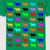 Multi Color Kuh - Kinder Premium T-Shirt