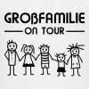Strichmännchen - Großfamilie on tour - Teenager Premium T-Shirt