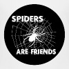 spiders are friends - Teenage Premium T-Shirt