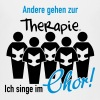 Therapie Chor - Teenager Premium T-Shirt