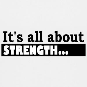 Its all about Strength - Teenager Premium T-Shirt