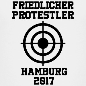 Peaceful Protestant Hamburg 2017 - Teenage Premium T-Shirt