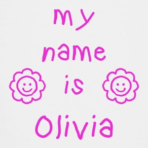 OLIVIA MY NAME IS - Teenage Premium T-Shirt