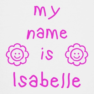 ISABELLE MY NAME IS - Premium T-skjorte for tenåringer