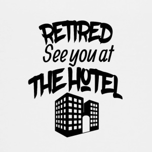 Retired See you at the hotel - Teenage Premium T-Shirt