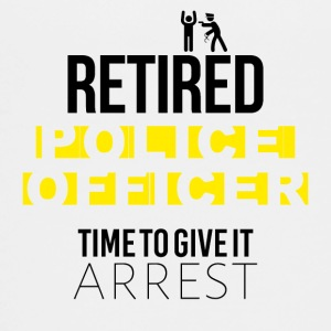 Retired police officer time to give it arrest - Teenager Premium T-Shirt